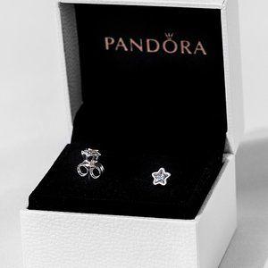 ✨Pandora Sparkling Star Stud Earrings